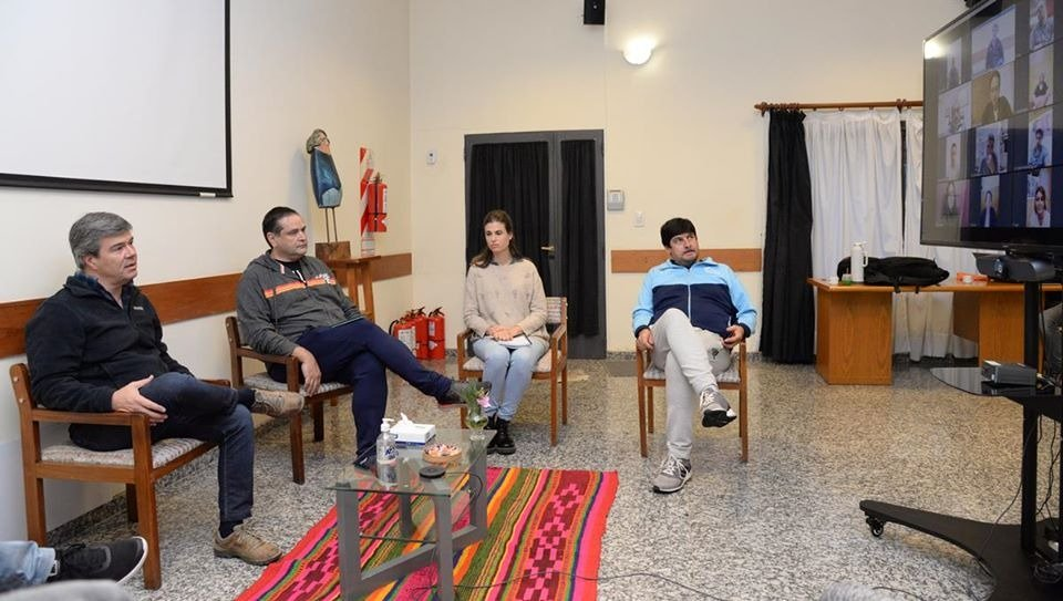Representantes de 10 clubes de la provincia mantuvieron contacto con la Secretaría de Deportes de Nación