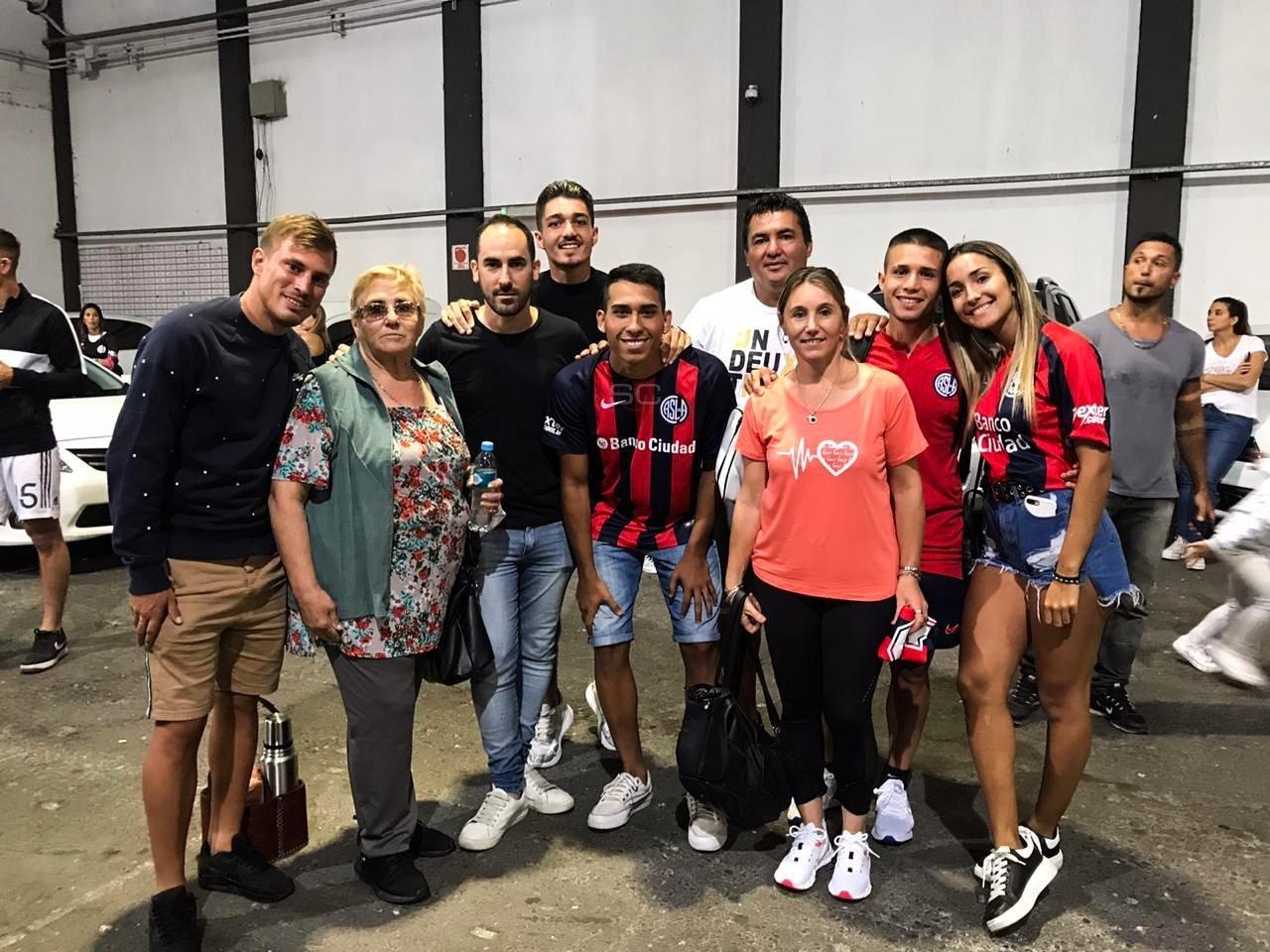 """Los hermanos Palacios aseguraron que """"jugar juntos en San Lorenzo es lo mejor que nos pudo pasar como familia"""""""