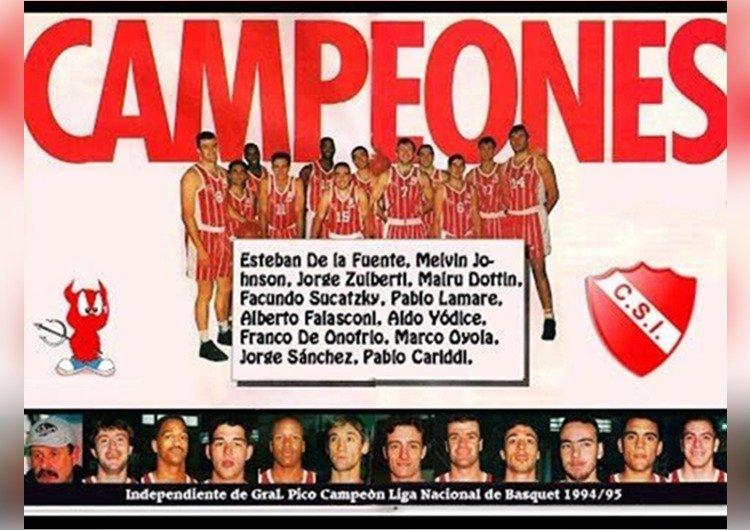 ¡Histórico recuerdo!: Se cumplen 25 años de Sportivo Independiente campeón de la Liga Nacional de Básquet