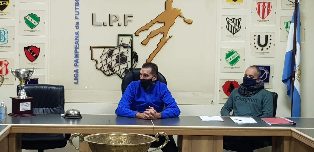 «Ni loco», dijo Norberto Cuevas cuando se le consultó si iba a renunciar al cargo de presidente de la Liga Pampeana