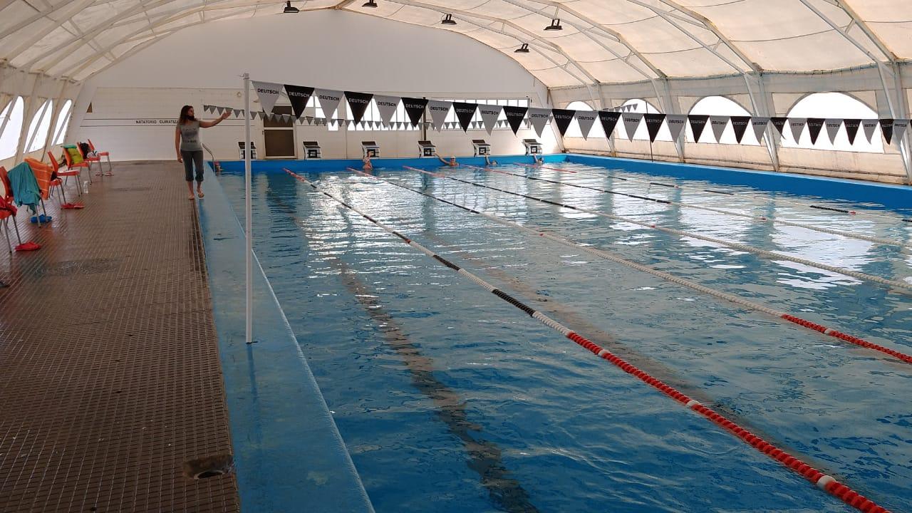 """El natatorio de Pico FBC: «está funcionando en forma normal"""", dijo Raúl Pasetti"""