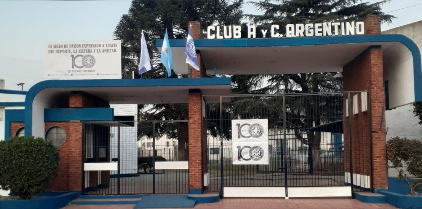 Fecha histórica: ¡El Club Atlético y Cultural Argentino de General Pico cumple hoy 100 años de vida!