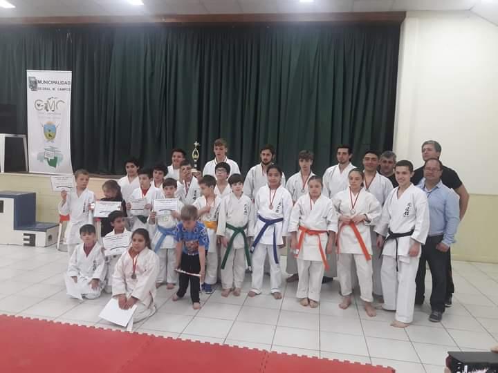 Luego de casi 6 meses, reanudó sus actividades la escuela de Karate Do que dirige el Sensei Mario Bonilla