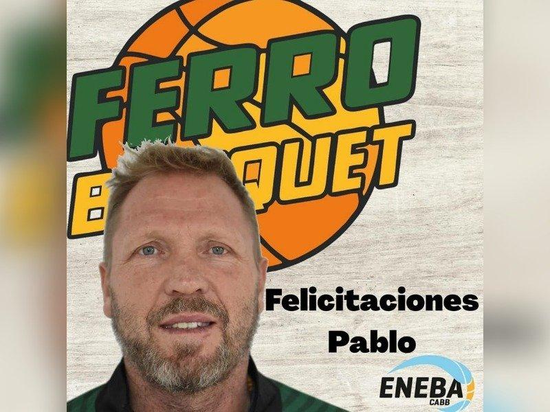 Federal de Básquet: Pablo Wendebourg encabezará el nuevo cuerpo técnico de Ferro de Pico