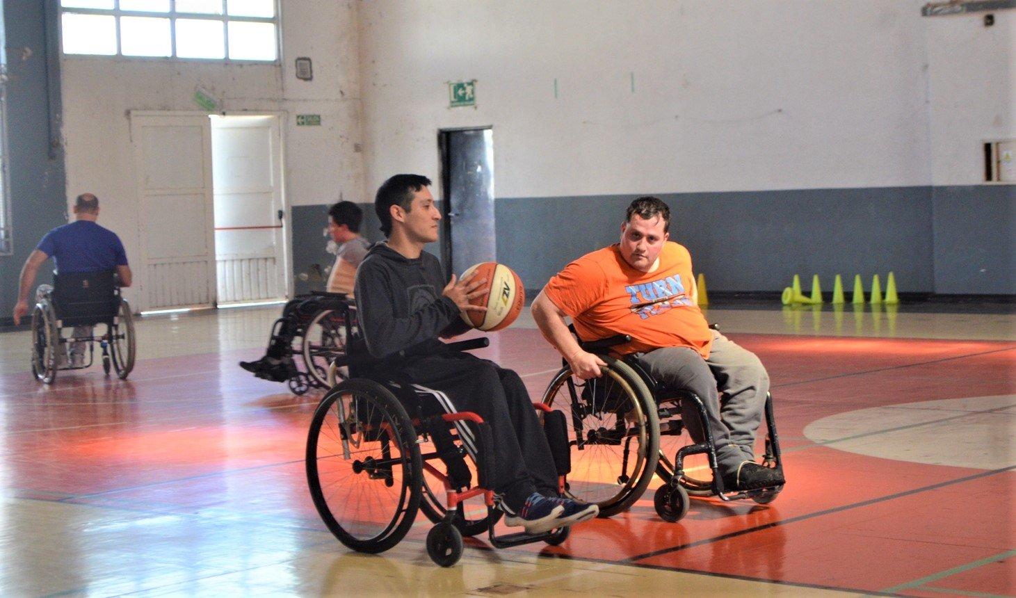 Se presentó el Centro de Desarrollo Deportivo para personas con discapacidad en La Pampa