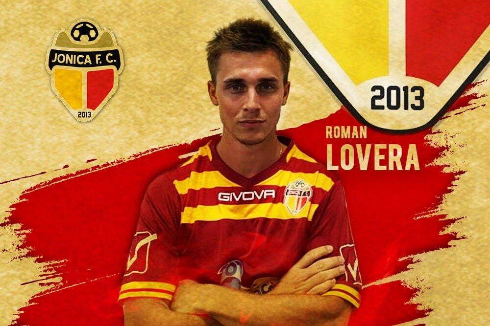 El piquense Román Lovera fue presentado como nuevo jugador del Jonica FC de Italia