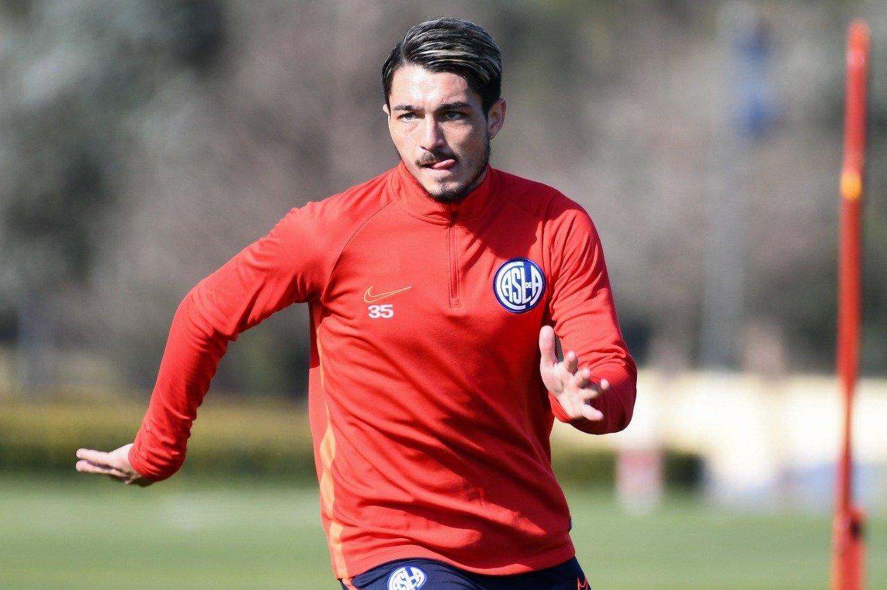 Matías Palacios dio positivo de coronavirus y se pierde el partido ante Aldosivi de Mar del Plata