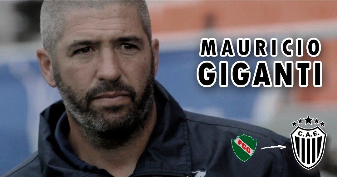 """Mauricio """"Buli"""" Giganti: """"Estoy en un club ordenado y es un gran desafío en lo personal"""""""