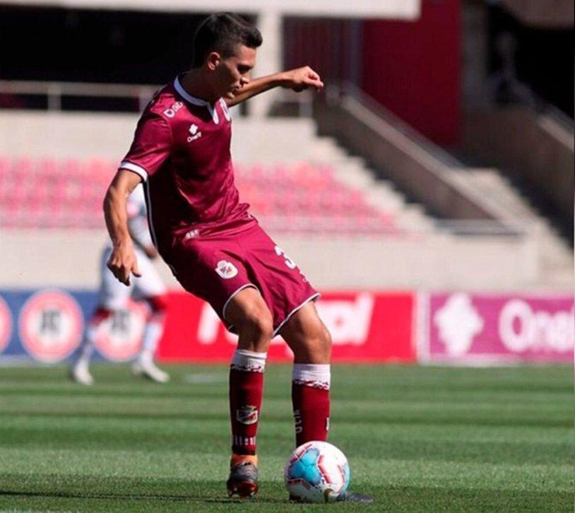 El piquense Facundo Agüero jugó los 90 minutos en la derrota de Deportes La Serena