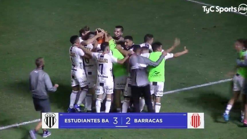 """El """"pincha"""" de Caseros del """"Buli"""" Giganti ganó por penales y sigue luchando por el ascenso a Primera"""