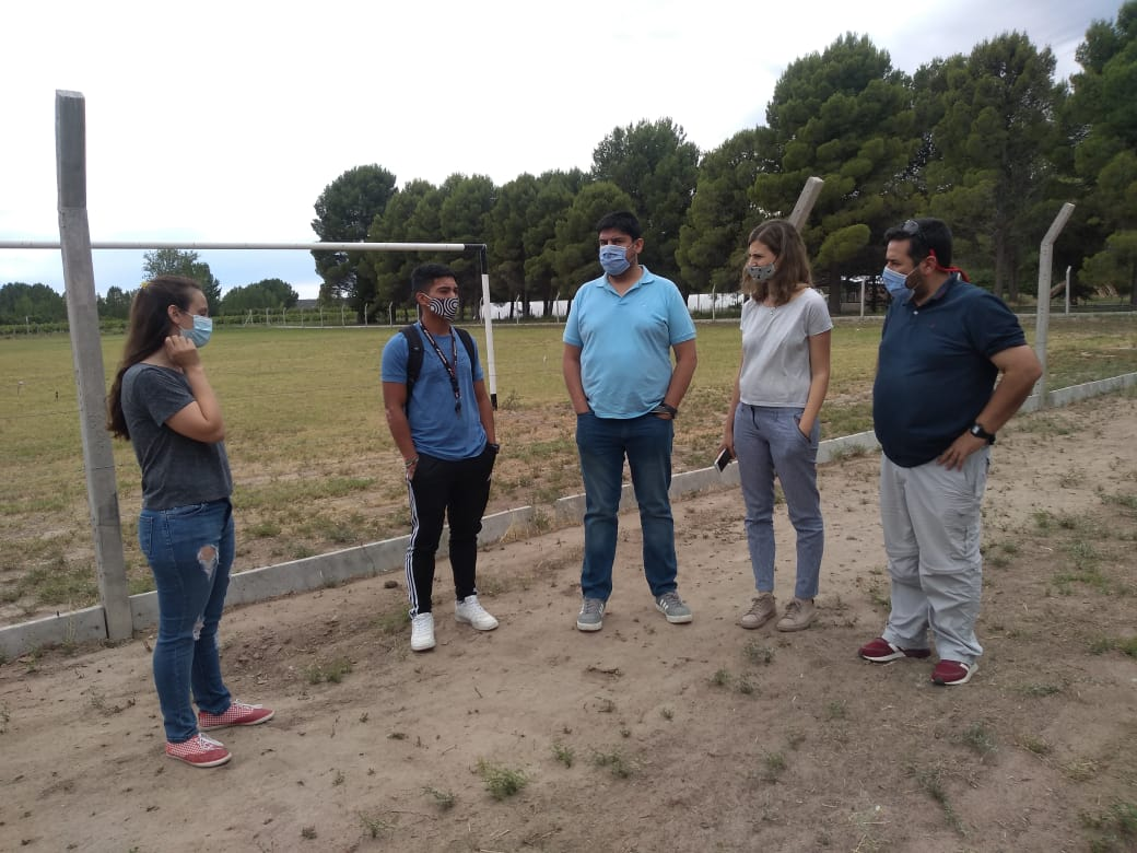 Censo de infraestructura deportiva: Relevaron condiciones edilicias de 607 entidades de La Pampa