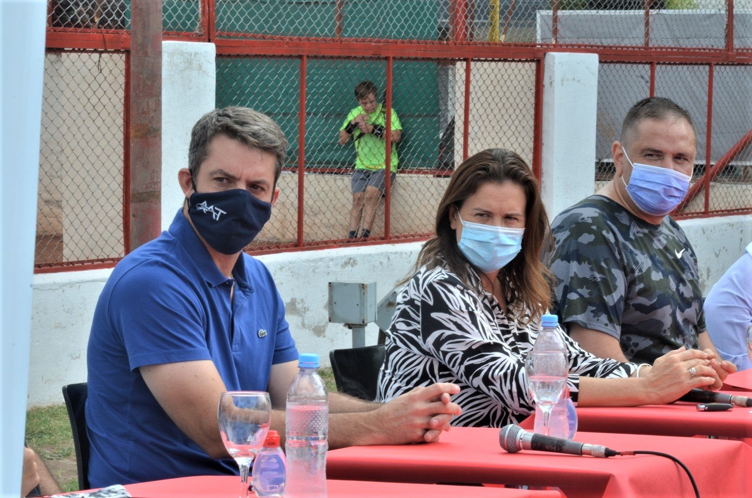 Con la visita de Agustín Calleri, se presentó oficialmente la flamante Federación Pampeana de Tenis en General Pico