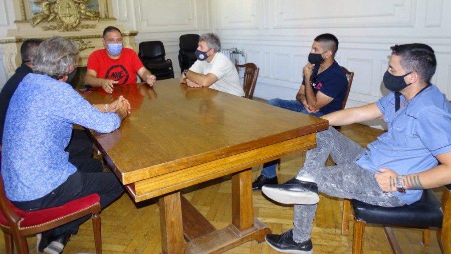 El subsecretario de Deportes se reunió con autoridades de la Confederación Argentina de Gimnasia