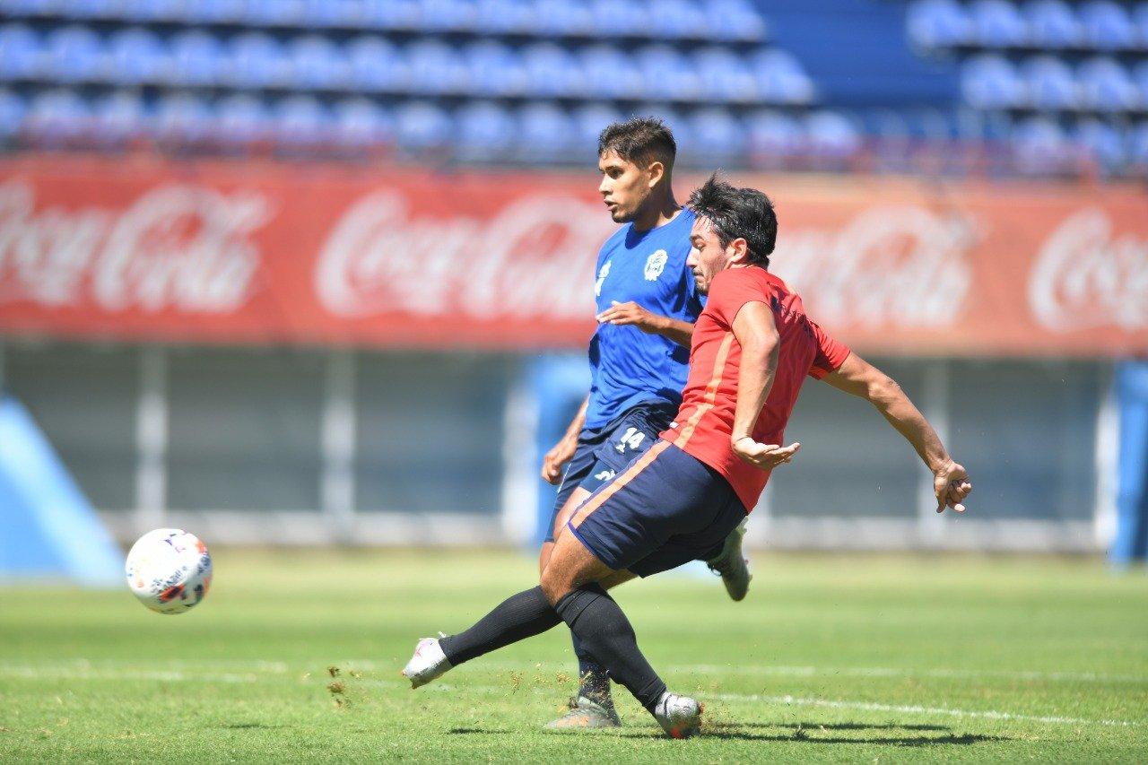 El piquense Matías Palacios marcó un gol en la goleada de San Lorenzo frente a Gimnasia de La Plata