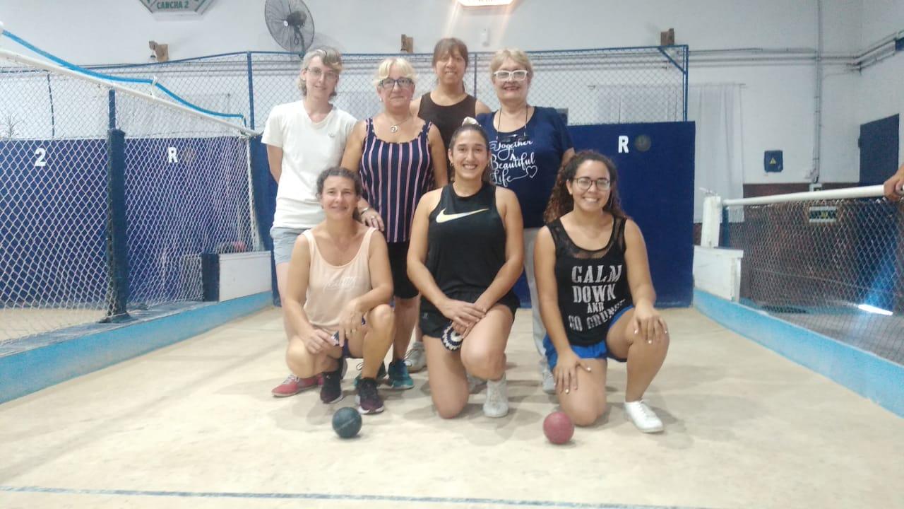 """Los equipos se van preparando para el Torneo Argentino de Bochas Femenino """"Mercedes Bringas"""""""
