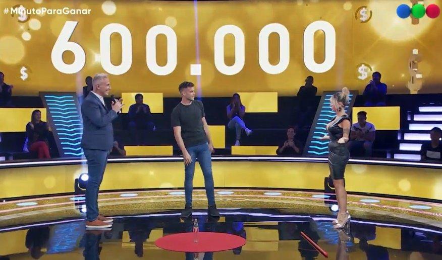 Un futbolista pampeano ganó $ 600.000 en el programa de Marley en Telefe