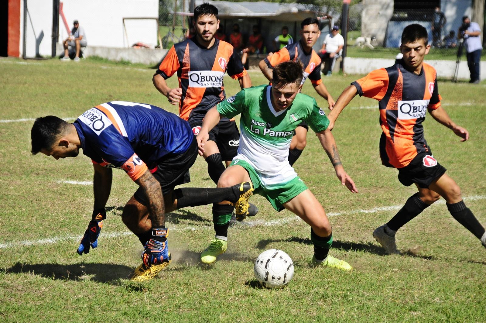 Liga Pampeana: En el adelantado Deportivo Ranqueles y Ferro de Pico terminaron igualados
