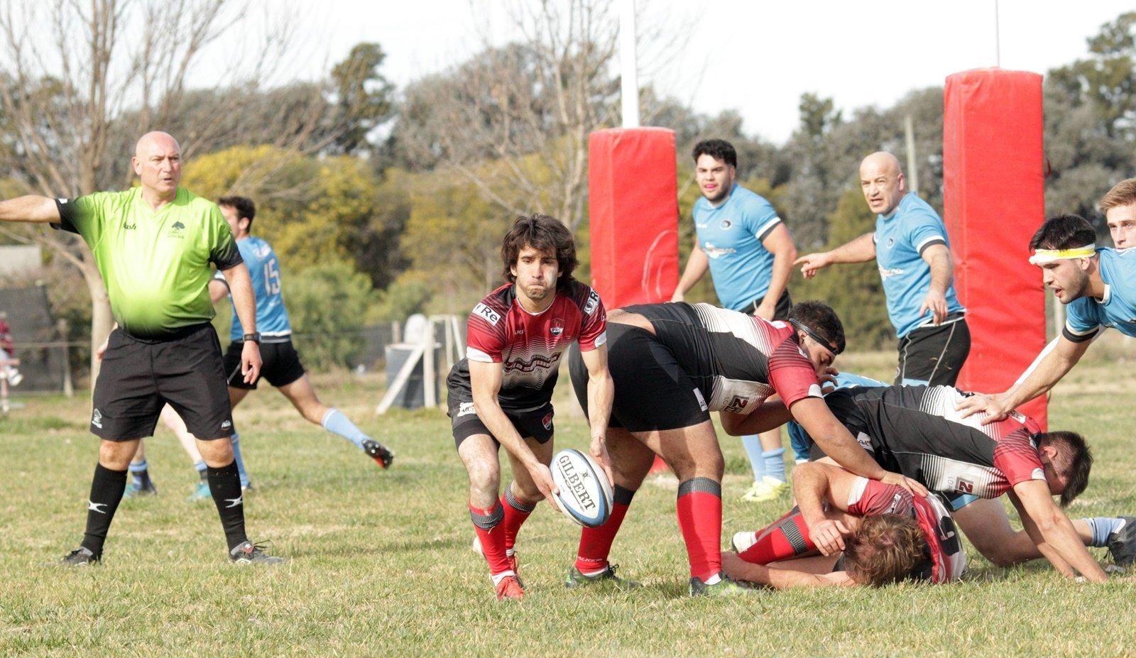 Pico Rugby fue claro dominador del juego y le ganó 62 a 5 a Estudiantes de Santa Rosa