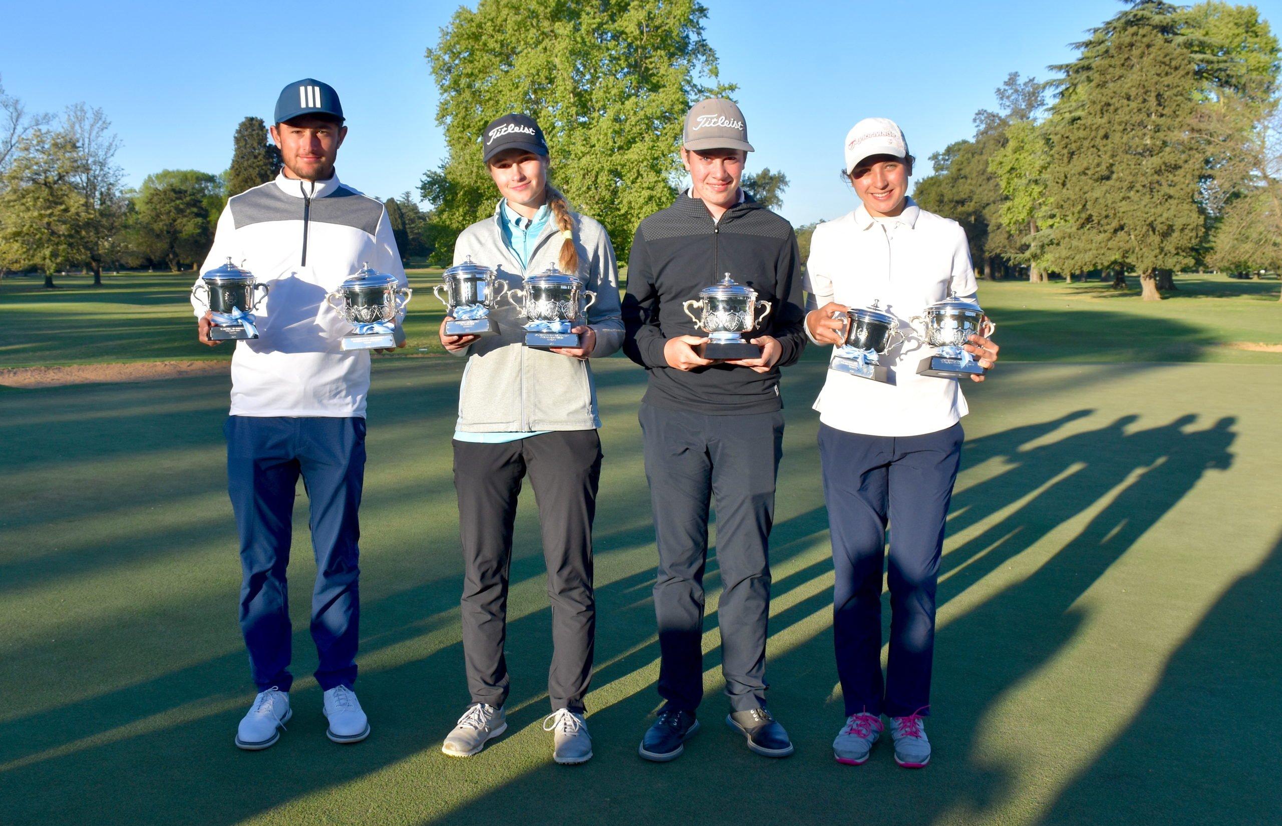 La piquense, Clementina Castaño, se consagró como Campeona Argentina de Menores de 15 años en Golf