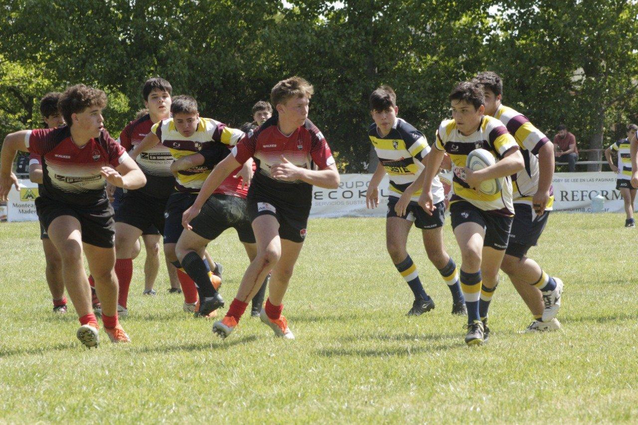 Las categorías formativas de Pico Rugby Club se midieron ante Villegas Rugby