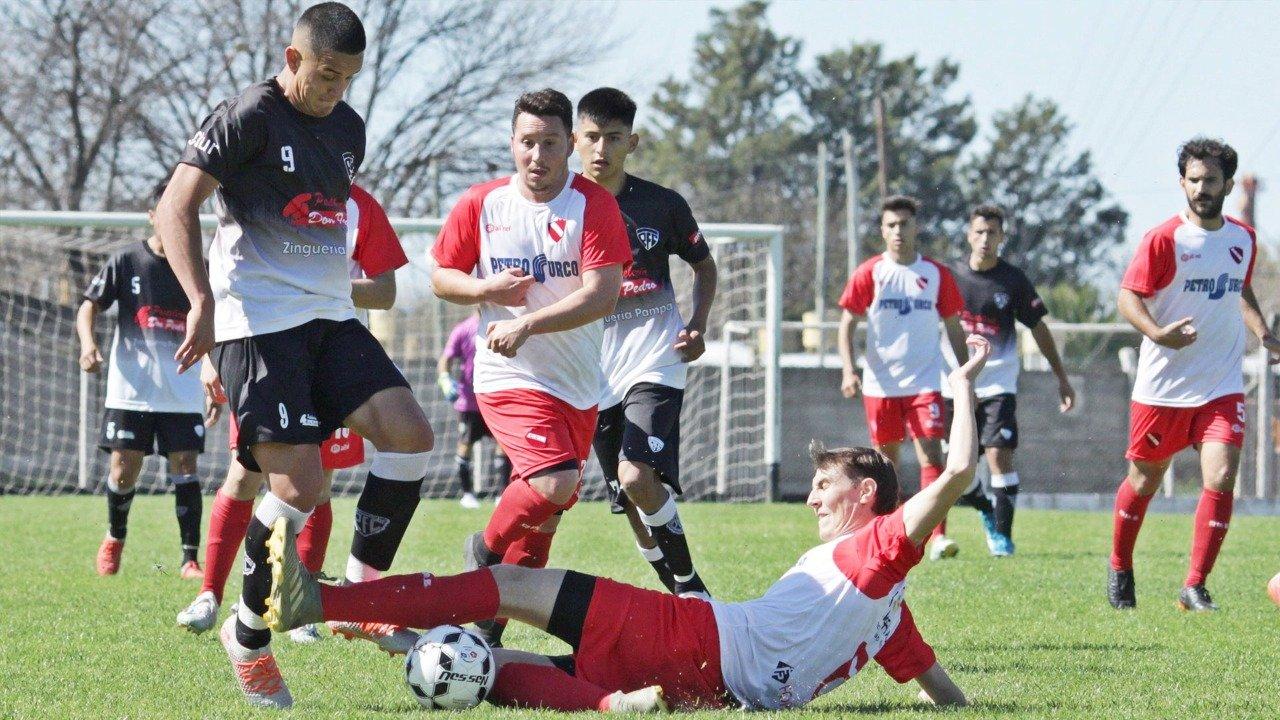 Liga Pampeana: Pico FBC y Sportivo Independiente reciben a los dos equipos de Castex